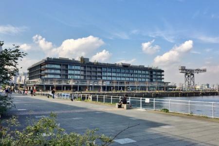 新港ふ頭の客船ターミナル