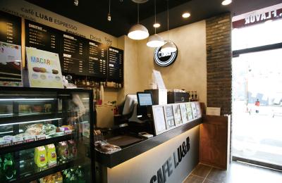 飲食店(カフェ)への設置例